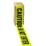 Caution Do Not Enter Black And Yellow Barrier Tape