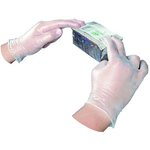 Large, 100 Count General Purpose Disposable Vinyl Powdered Gloves