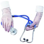 X-Large, 100 Count Disposable Vinyl Powder Free Exam Gloves
