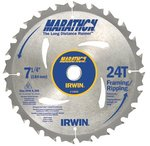 "7-1/4"" 24 Teeth Marathon Circular Saw Blade"