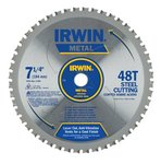 "7-1/4"" 48T Metal Cutting Saw Blade Ferrous Steel"