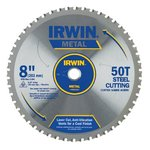 "8"" 50T Metal Cutting Saw Blade Ferrous Steel"
