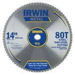 "14"" 80T Metal Cutting Ferrous Steel Circular Saw Blade"