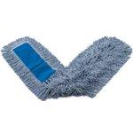 White, Cotton Kut-A-Way Cut End Dust Mop Heads-48 x 5