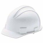 Huntsman White Charger 4-pt Ratchet Hard Hat