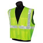 Medium Deluxe Lime Safety Vest