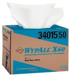 "WypAll X60 Wipes 12.5"" X 16.8"""