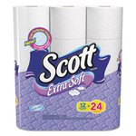 Scott Extra Soft 1-Ply Bath Tissue Roll