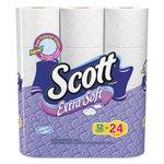 Scott Extra Soft 1-Ply Bath Tissue Roll