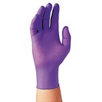 Purple Nitrile Exam Gloves-Large