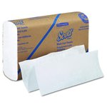 White, Multifold SCOTT Paper Towels-9.20 x 9.40