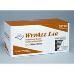 White, 45 Count WYPALL L40 Professional Towels-12 x 23