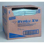 Blue, 300 Count Quarterfold WYPALL X70 Foodservice Towels 12.5 x 23.5