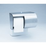 Silver, 2 Roll Coreless Reflections Tissue Dispenser10.2 x 6.4 x 7.2