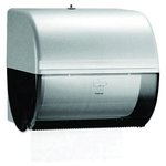 Smoke Colored, IN-SIGHT OMNI Roll Towel Dispenser-10.5 x 10 x 10