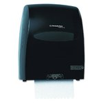Sanitouch Smoke-Colored Hard Roll Towel Dispenser