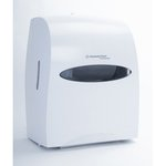 Pearl White, Electronic Touchless Towel Dispenser-12.6 x 16.1 x 10.2