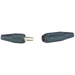 QUIK-TRIK Cable Connector For Use With Cables 1/0 & 2/0, Black