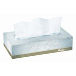 White, 2-Ply KLEENEX SOFTBLEND Facial Tissue