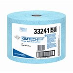 Blue, 717 Count Jumbo Roll KIMTECH PREP KIMTEX Wipers- 9.6 x 13.4