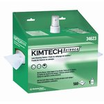 White, Pop-Up Box KIMTECH SCIENCE Lens Cleaning Station- 2 Per Container