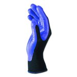 Purple, Medium #8 KLEENGUARD G40 Foam Coated Nitrile/Nylon Gloves-Pair
