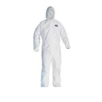 Extra Large A80 White Coveralls