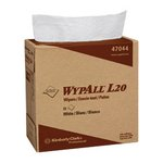 White, 88 Count 4-Ply Pop Up Box WYPALL L20 Wipers 9.1 x 16.8