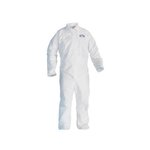 A20 EBC Coveralls, Microforce SMS Fabric, White, XL