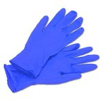 PURPLE NITRILE Exam Gloves-Small