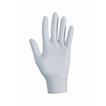 Gray, 150 Count KLEENGUARD G10 Nitrile Gloves- Small