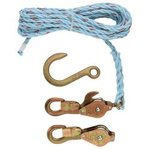 Block & Tackle, Standard Snap Hooks, and Rope
