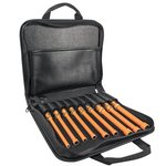 9-Piece Insulated Nut Driver Set- 6'' Shafts