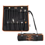 Utility Insulated 13-Piece Tool Kit with Roll-Up Case