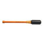 """11/32"""" Insulated Nut Driver, Cushion Grip, 6'' Hollow Shaft"""