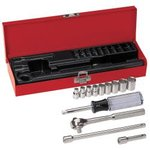 13-Piece, 1/4-Inch Drive Socket Wrench Set