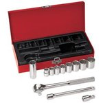 12-Piece 3/8-Inch Drive Socket Wrench Set
