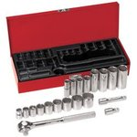 20-Piece 3/8-Inch Drive Socket Wrench Set