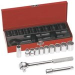 12-Piece 1/2-Inch Drive Socket Wrench Set