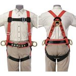 Fall-Arrest, Positioning Harness - 44 inches-52 inches