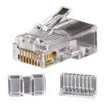 Modular Data Plug - RJ45 - CAT6, 25-Pack