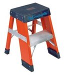 2' Industrial Fiberglass Step Stands