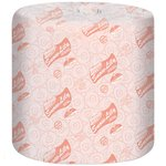 White, 2-Ply Snow Lilly 100% Recycled Bath Tissue-336-ft./Roll
