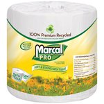 White, 2-Ply Premium 100% Recycled Bath Tissue-504-ft./Roll