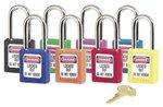 6 Pin Tumbler Safety Lockout Padlock Keyed