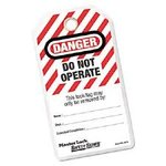 "3"" ""Do Not Operate"" I.D. Tags"