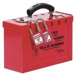 "6""X9-1/4"" X3-3/4"" Steel Group Lock Box"