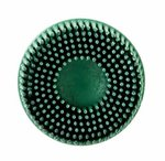 """3"""" Green Abrasive Scotch-Brite Roloc Bristle Discs"""