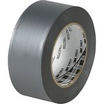 "2"" X 50 yd Gray Vinyl Duct Tape 3903"