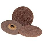 "2"" Abrasive Three-M-ite Roloc Roll-On Coated-Polyester Discs w/ 36 Grit"